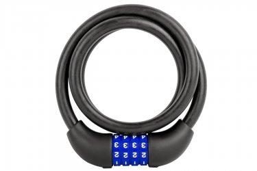 Cadeado Segredo 12X1000 Espiral Fosco - M-Wave