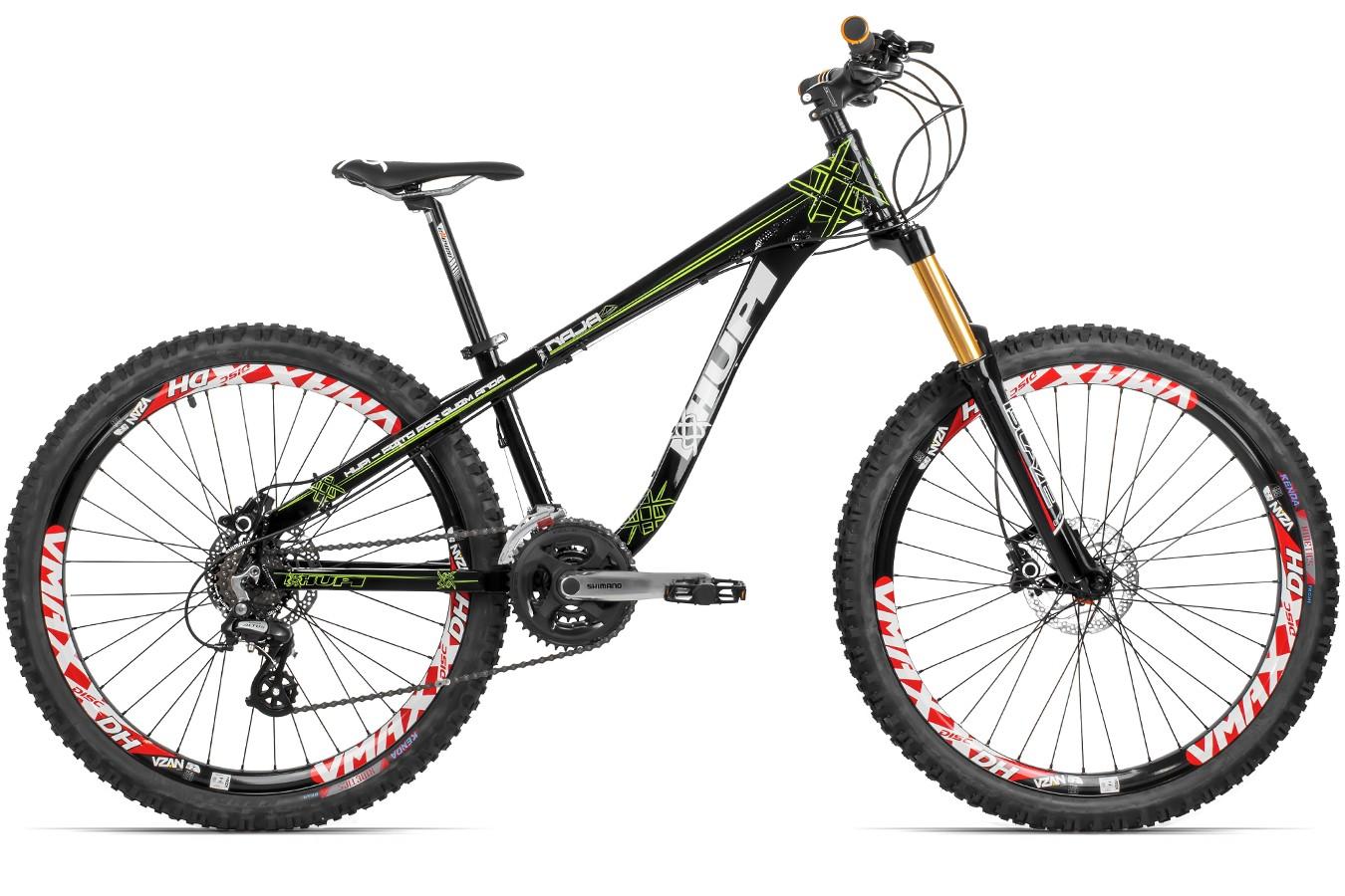 Bicicleta 26 Freeride Naja 2016 24V Hidráulico - Hupi