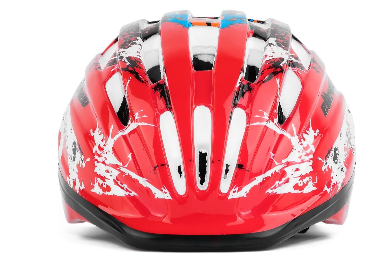 Capacete Ciclista Infantil Red - Elleven