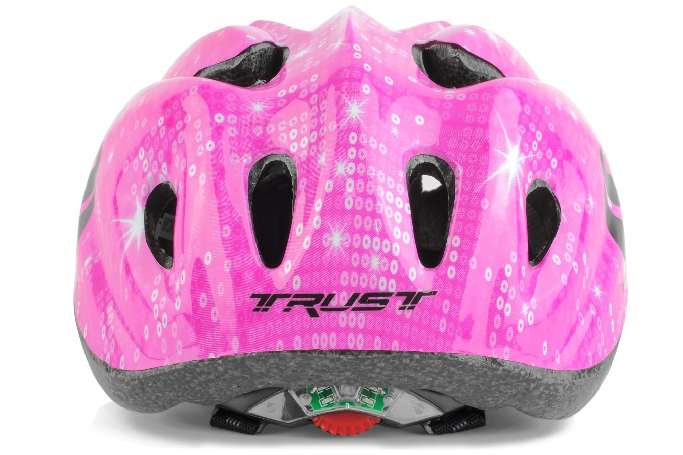 Capacete Ciclista Capitão Infantil Com LED - Trust