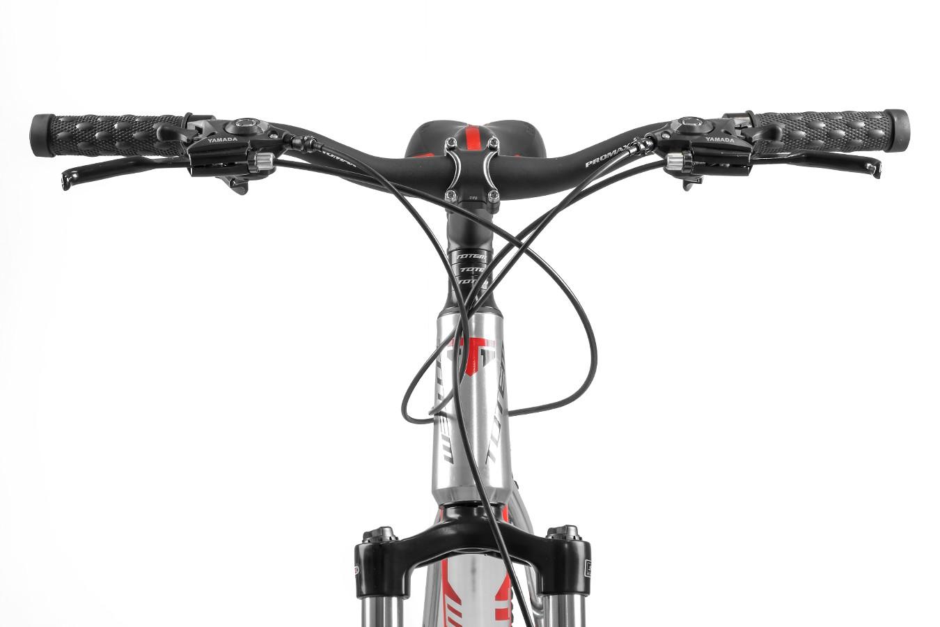 Bicicleta 26 Alumínio 21V Arroyo Prata - Totem