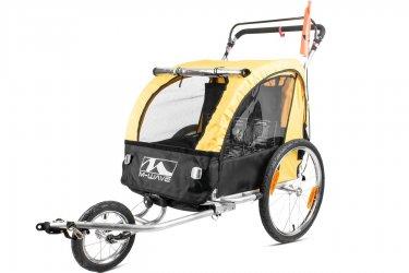 Carrinho Transporte Infantil Com Engate Para Bike - M-Wave