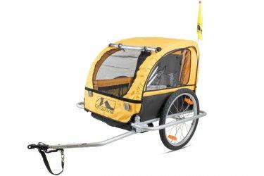 Reboque Transporte Infantil Bike Trailer Com Engate - M-Wave