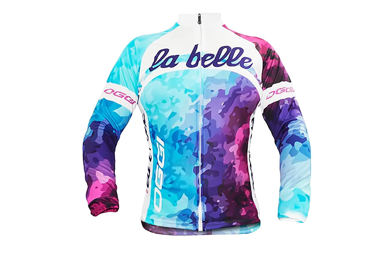 Camisa Ciclista Manga Longa La Belle - Oggi