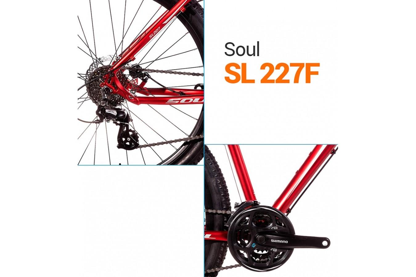 Bicicleta 27,5 SL227F 24V - Soul