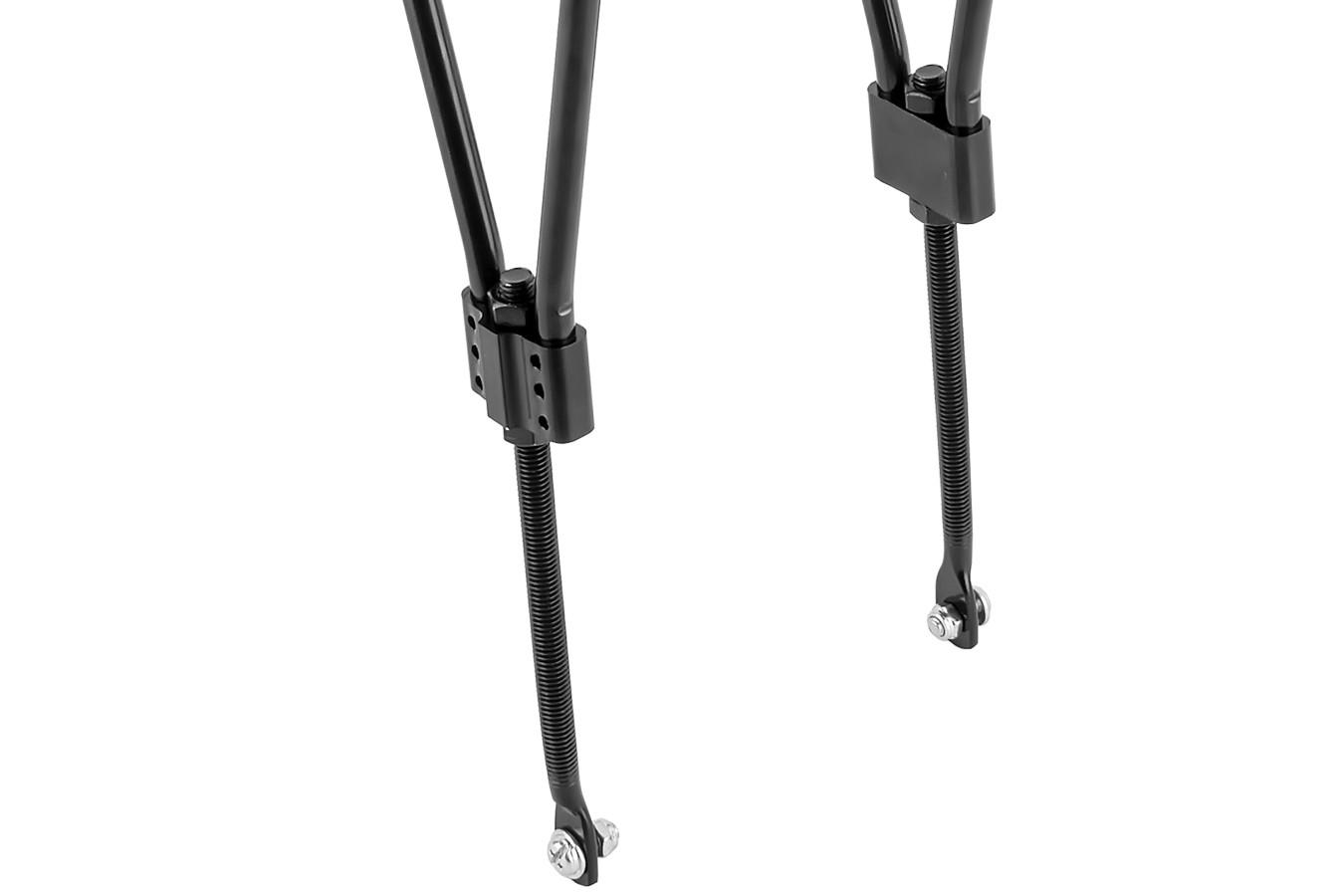 Bagageiro Bicicleta 24 à 28 Ajustável em Alumínio - U-Lix