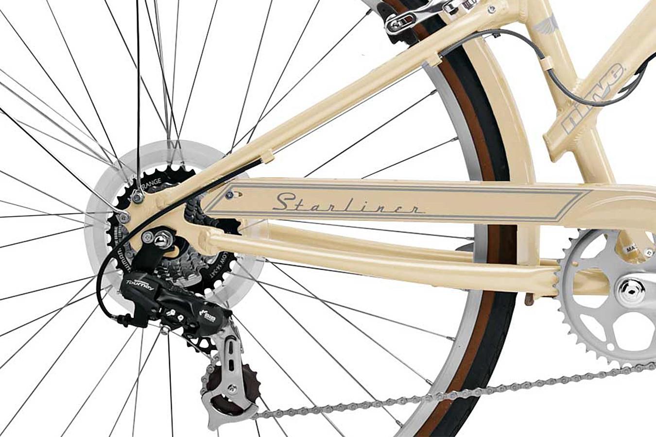 Bicicleta 700 Starliner Vintage Cream - Nirve