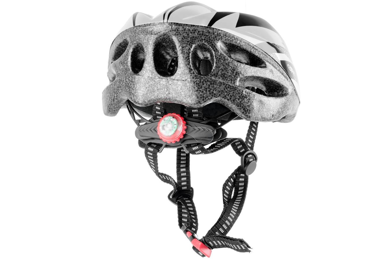 Capacete Ciclista 1017 Com Sinalizador (LED) - LL