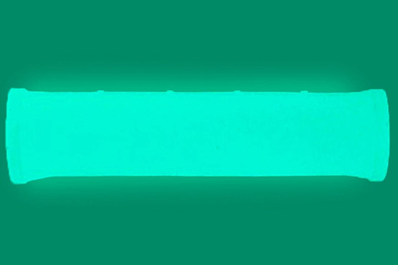 Manopla MTB Transparente Fluorescente (Brilha no Escuro) - Elleven
