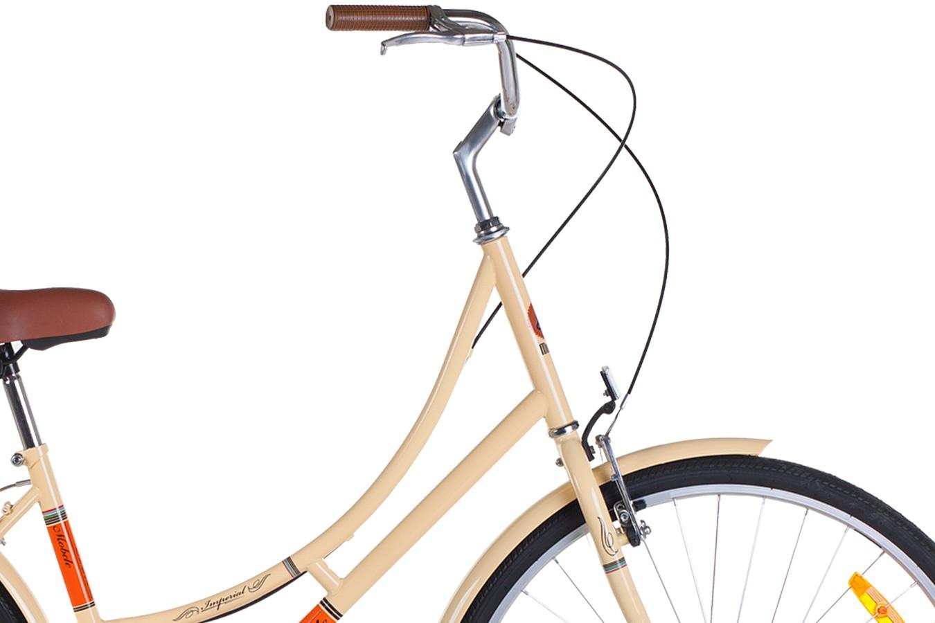 Bicicleta 700 Imperial 7V Com Bagageiro (Verde)  - Mobele