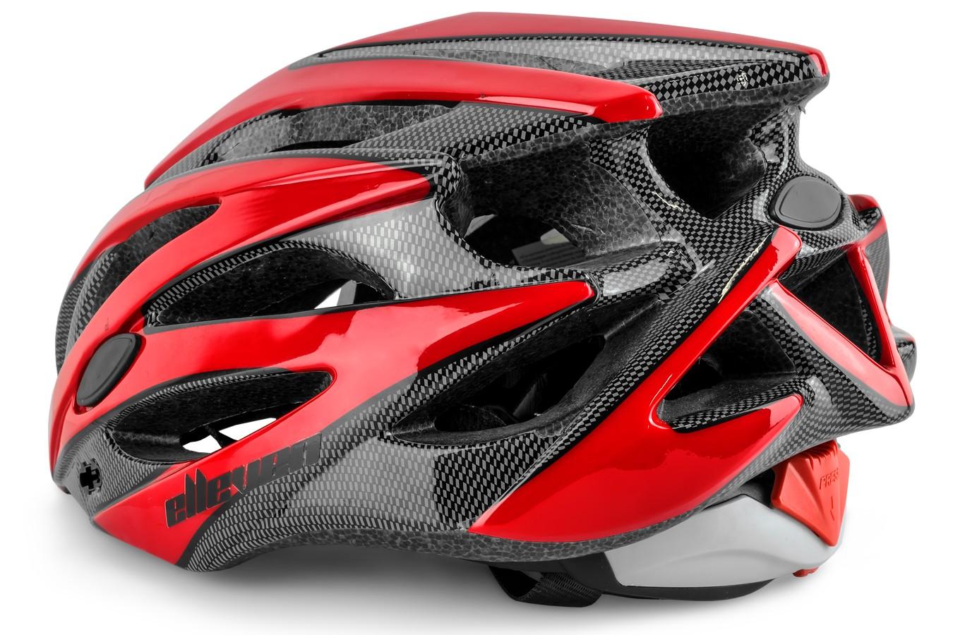 Capacete Ciclista Adulto Inmold Com Viseira MV29 - Elleven