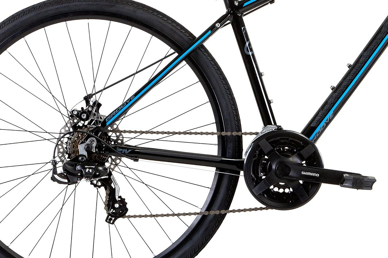 Bicicleta 700 Blues Disc Alumínio 21V - Groove