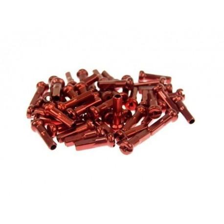 Niples em alumínio 2,0x16mm (72pçs)