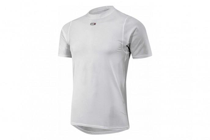 """Camisa Louis Garneau SF-2 """"Segunda Pele"""" Branca"""