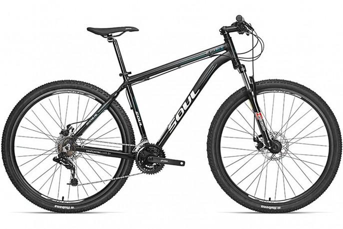 Bicicleta 26 Blackrain Sram 21V - Soul