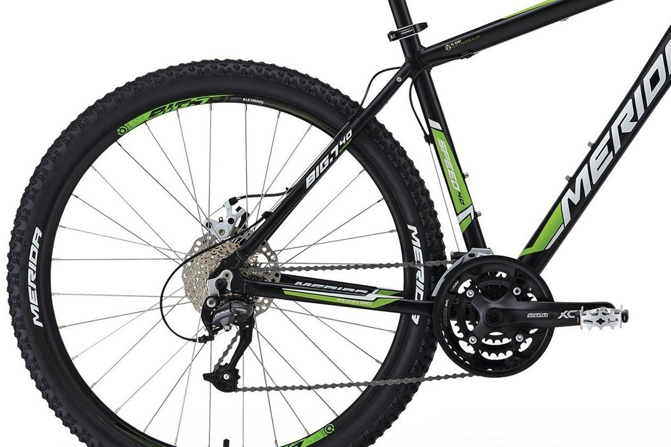 """Bicicleta 27,5"""" Big Seven 40 2014 - Merida"""