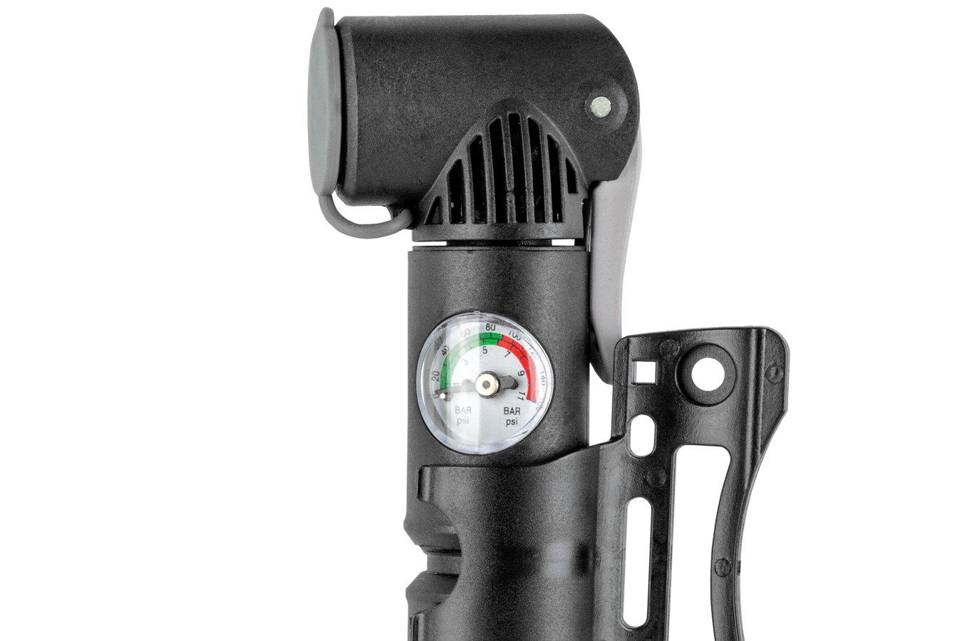Bomba Ar de Mão Mini ZF-021 Com Manômetro - Bee Pump