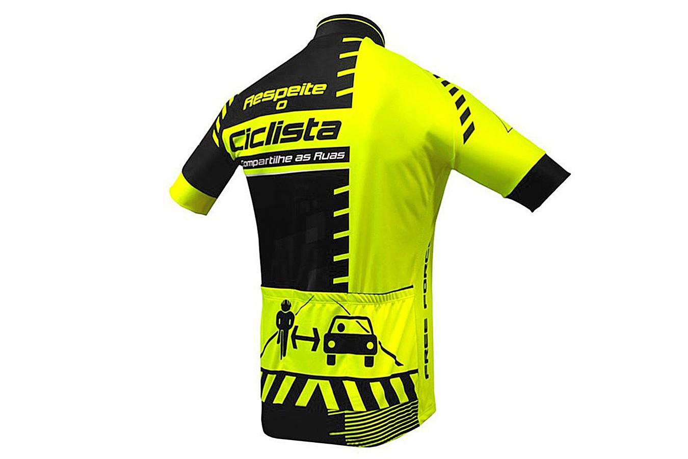 Camisa Ciclista Infantil Transit - Free Force