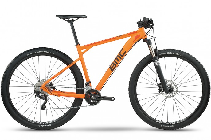 Bicicleta 29 Team Elite TE03 XT Deore/SLX S Orange - BMC