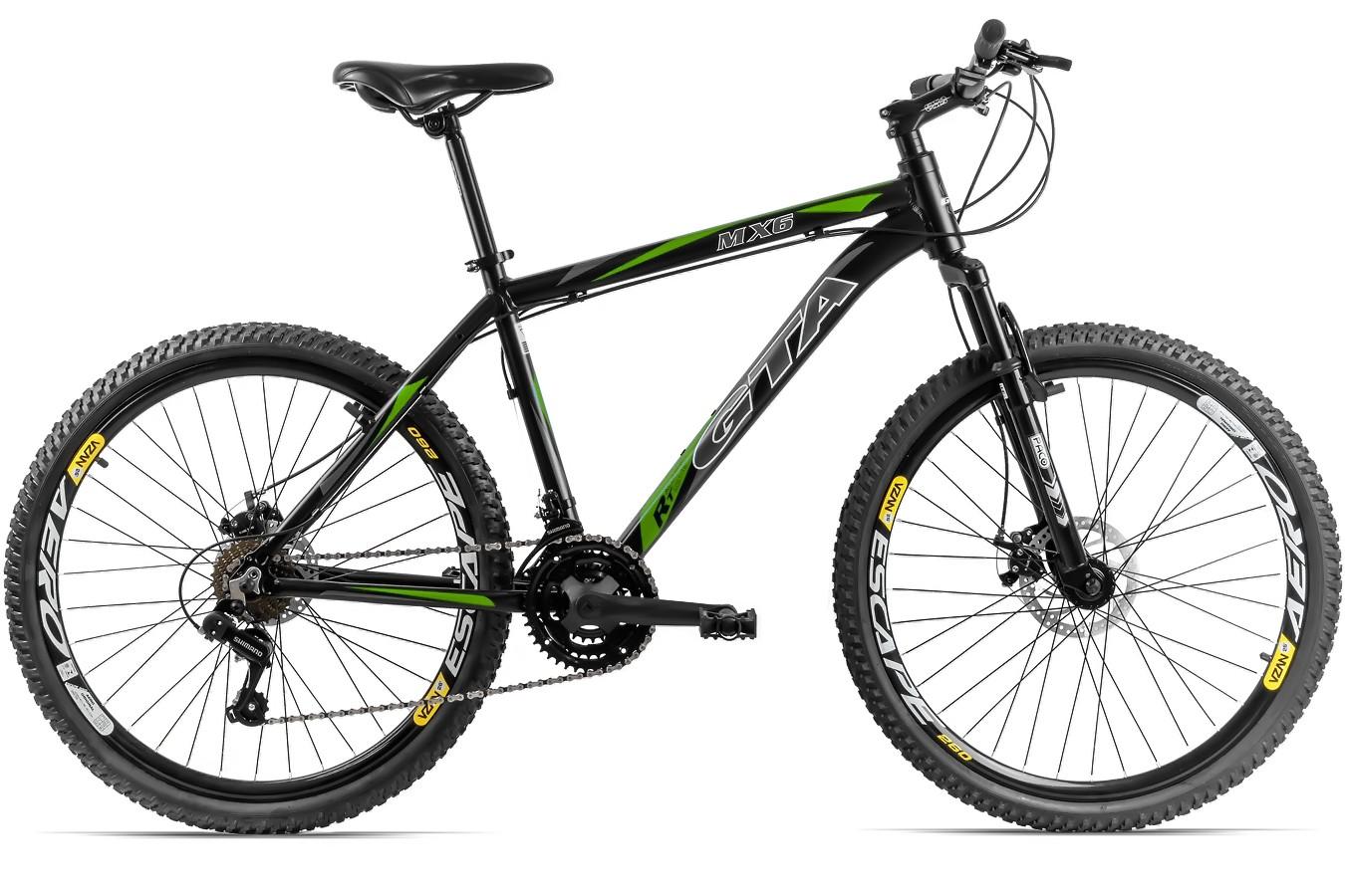 Bicicleta 26 Alumínio 21V MX6 - GTA