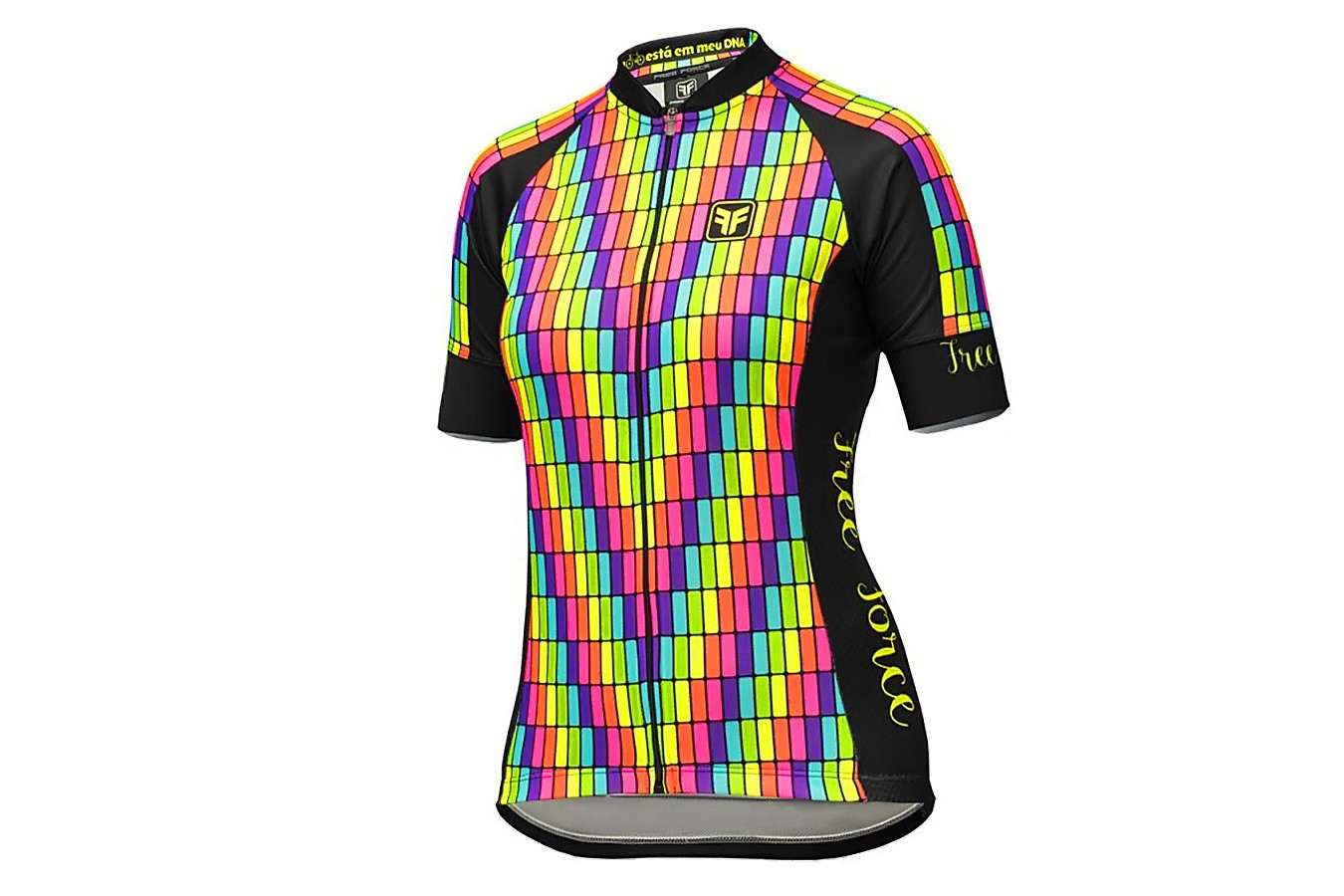 Camisa Ciclista Feminina Display - Free Force