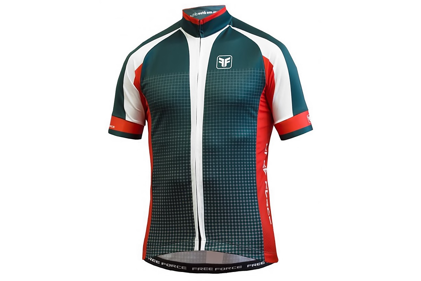 Camisa Ciclista Square - Free Force