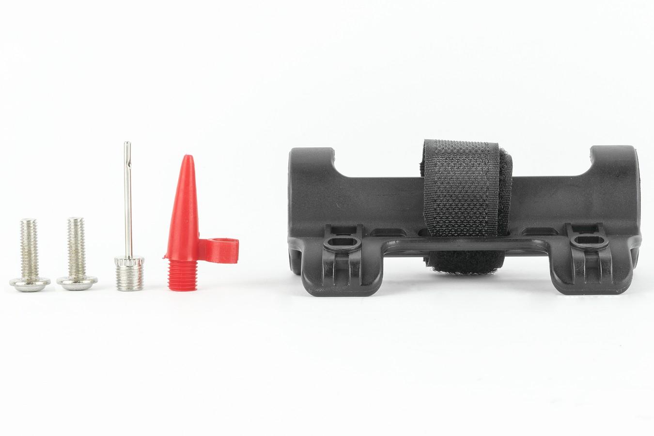 Bomba Ar Quadro Mini Alumínio Com Mangueira - LL