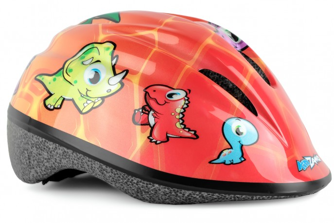 Capacete Ciclista Infantil TR-1 Jurassic - Kidzamo