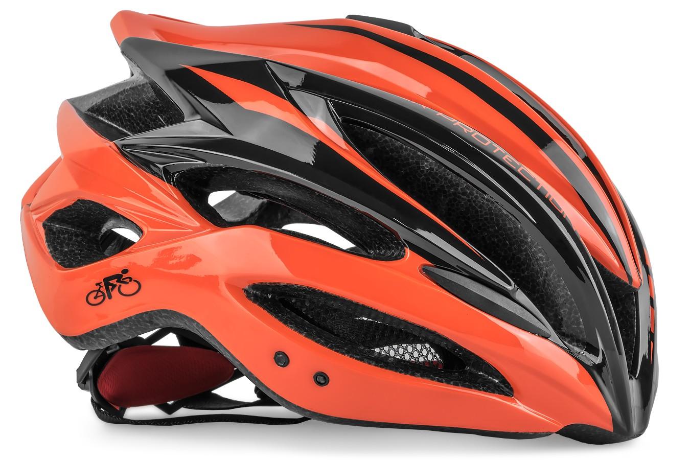 Capacete Ciclista Adulto Inmold Com Viseira1154 - LL