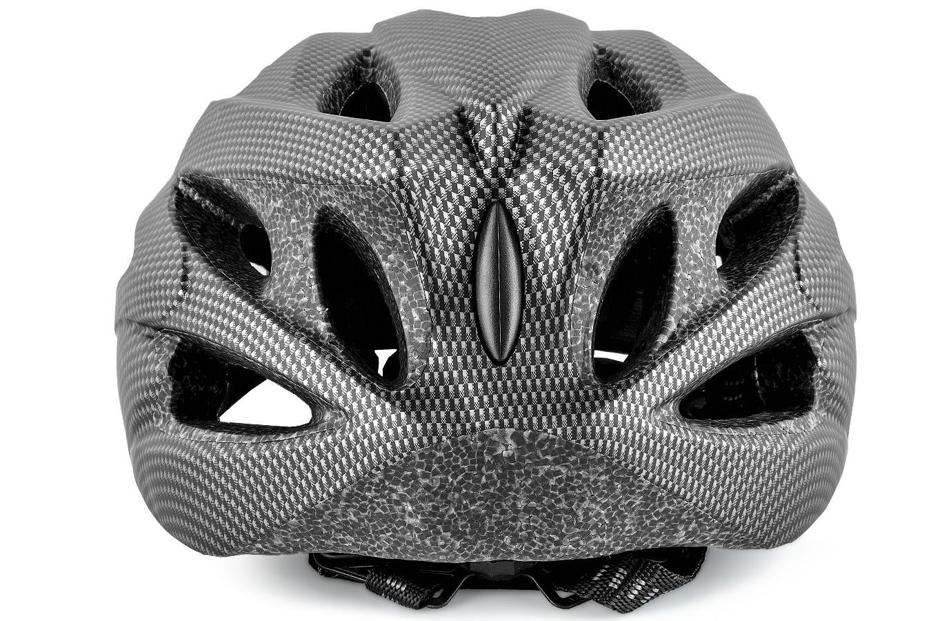 Capacete Ciclista Adulto Inmold 1078 Tipo Carbono - LL
