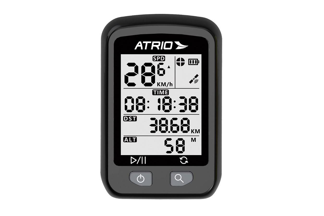 Velocímetro Bike Digital Iron Com GPS BI091 - Atrio