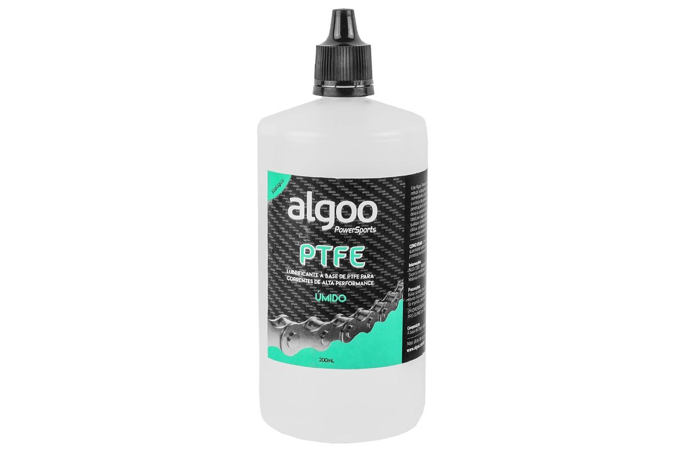 Lubrificante PTFE (Teflon) Úmido 200ml - Algoo