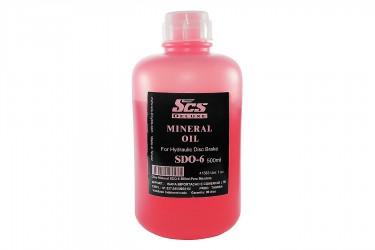 Óleo para Freio Hidráulico Mineral 500ml SDO-6 - SCS Deluxe
