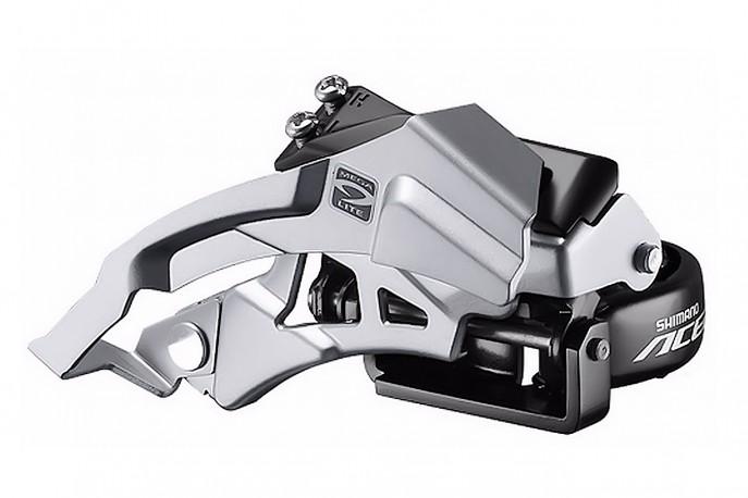 Cambio Dianteiro 31,8mm Dual FD-M3000 Acera - Shimano