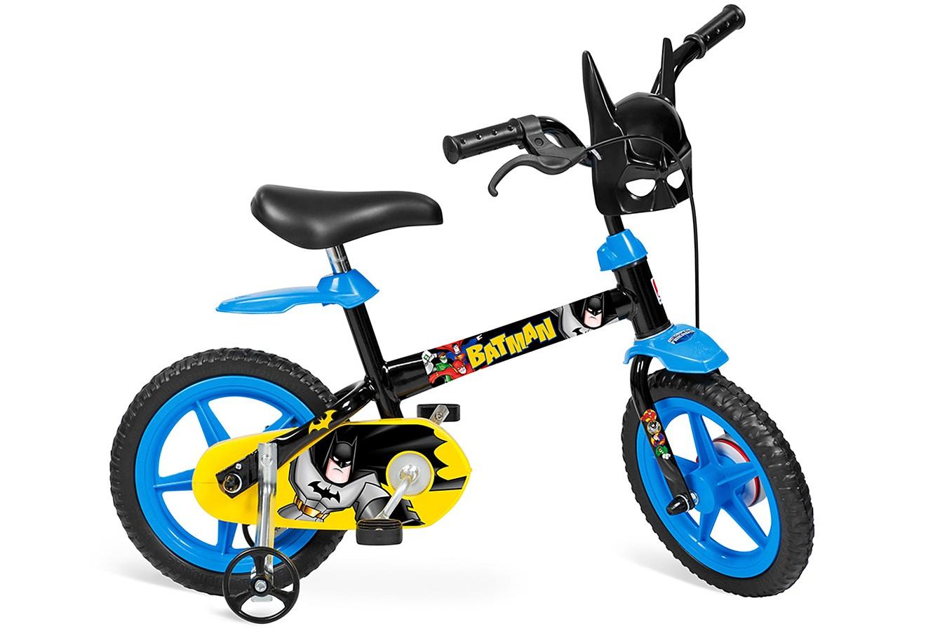 5b09e98b0 Bicicleta 12 Infantil Batman - Bandeirante