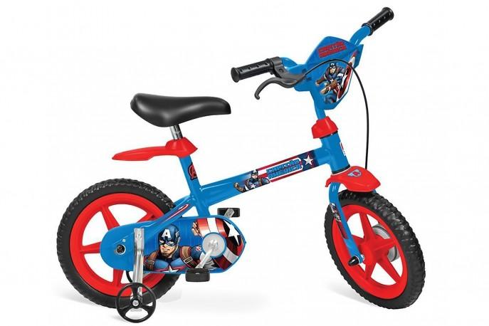 Bicicleta 12 Infantil Capitão América - Bandeirante