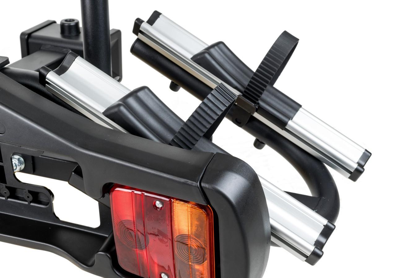 Transbike para Reboque 2 Bikes com Sinalizador e Suporte para Placa - Bike In Car