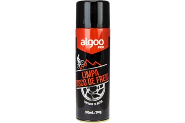 LIMPADOR ALGOO POWERSPORTS PARA ROTOR DISCO DE BIKE MTB & ROAD - SPRAY 300ML