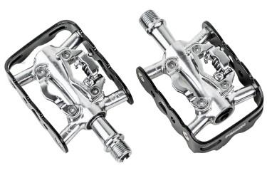 Pedal Zeray ZP-101 Clip Plataforma MTB Preto Aluminio Rolamento - FEIMIN