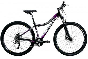 Bicicleta 29 Feminina Atrix 27V Suspensão com Trava - First