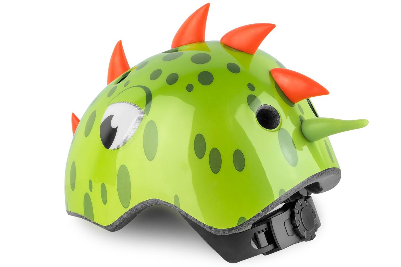 Capacete Ciclista Infantil S-216S Dinossauro - Kidzamo