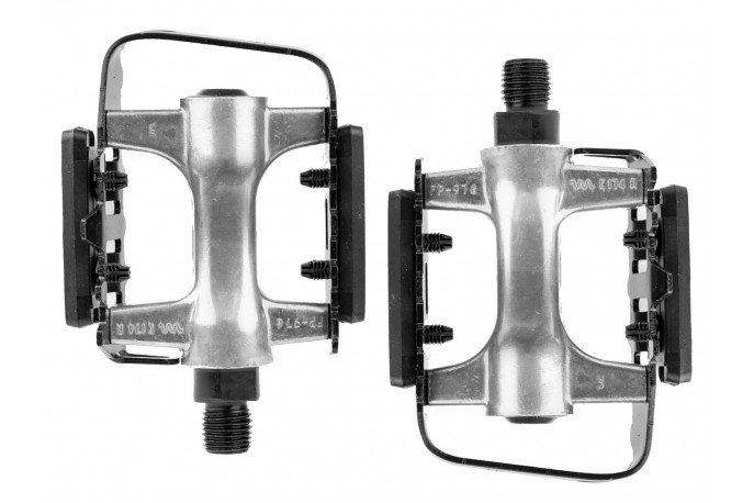 Par Pedal 9/16 Alumínio com Esfera - Ningbo