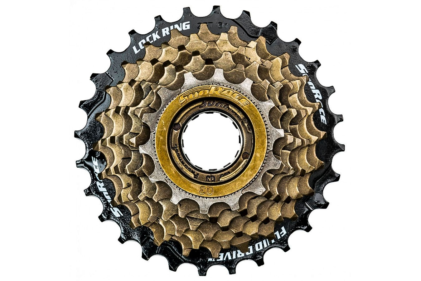 Roda Livre 7V Index 14/28D M2A Bx Sun - Race