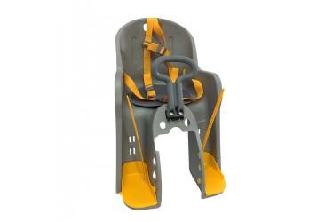 Cadeirinha Dianteira Luxo Cinza para Quadro - Elleven