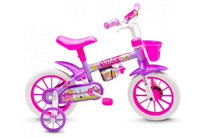 Bicicleta 12 Infantil Violet - Nathor