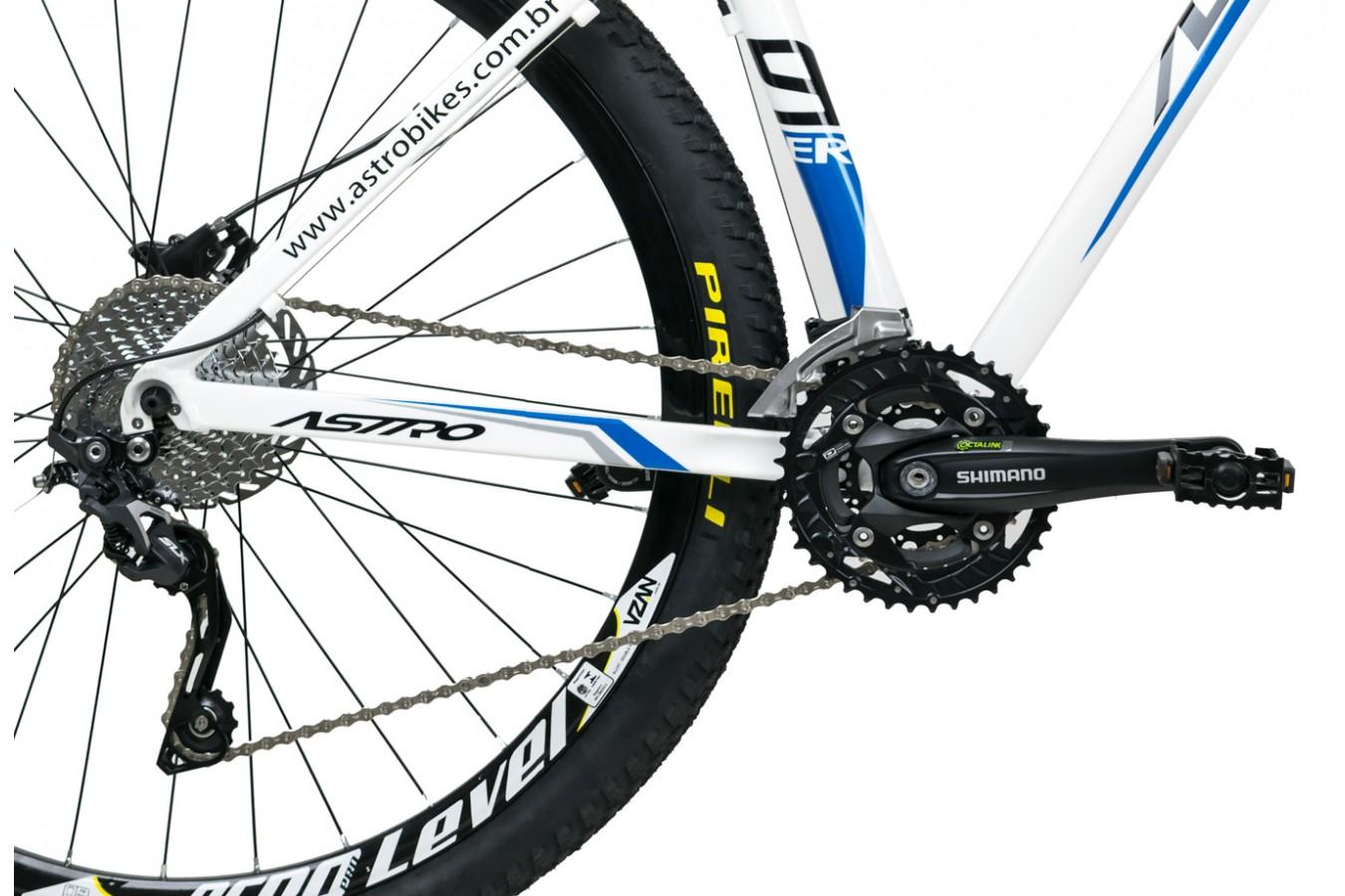 """Bicicleta 29"""" 30v Shimano SLX/Deore Freio a Disco Hidráulico - Astro"""