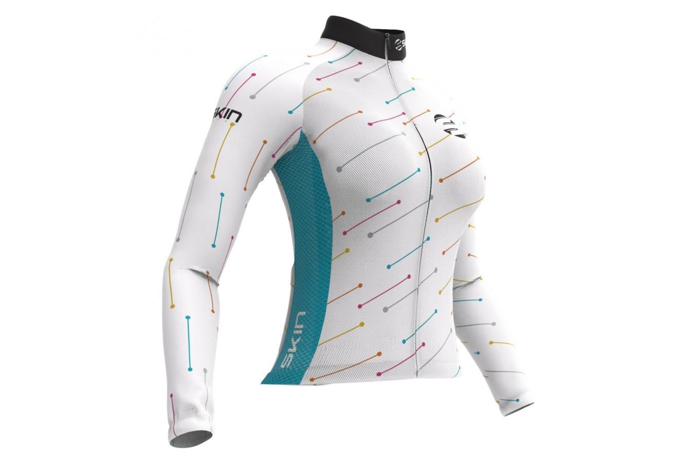 Camisa Ciclista Feminina Venus - Skin Sport
