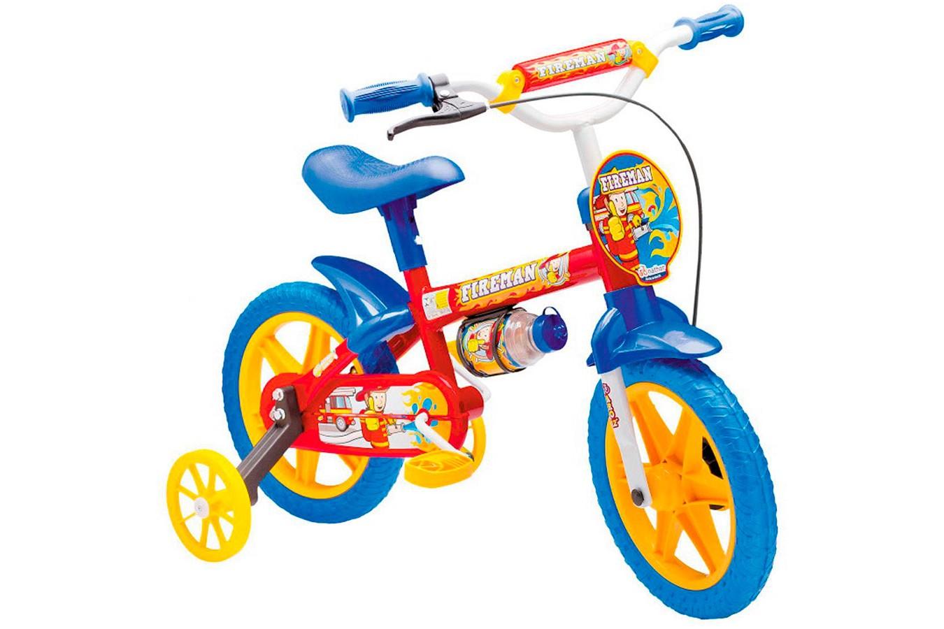 Bicicleta aro 12 Nathor Fireman