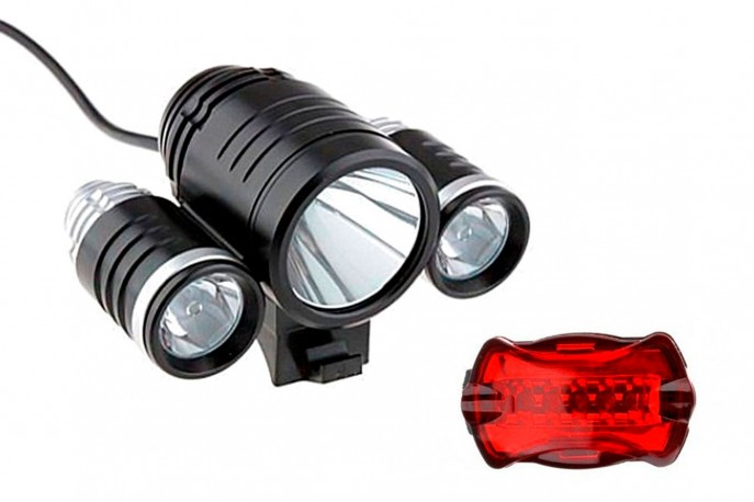 Kit Farol + Vista Light Triplo 1600 Lúmens LL81699