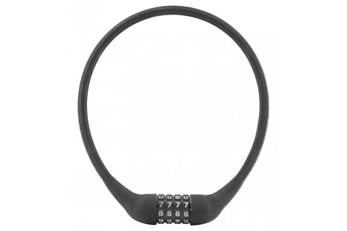 Cadeado para bike com segredo 60cm revestido em silicone - Elleven